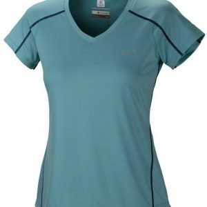 Columbia Zero Rules SS Women Turkoosi XL
