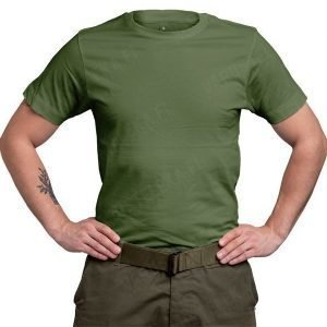Continental T-paita oliivinvihreä