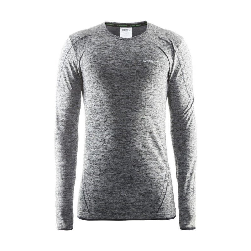 Craft Active Comfort Rn Ls Men's L Black