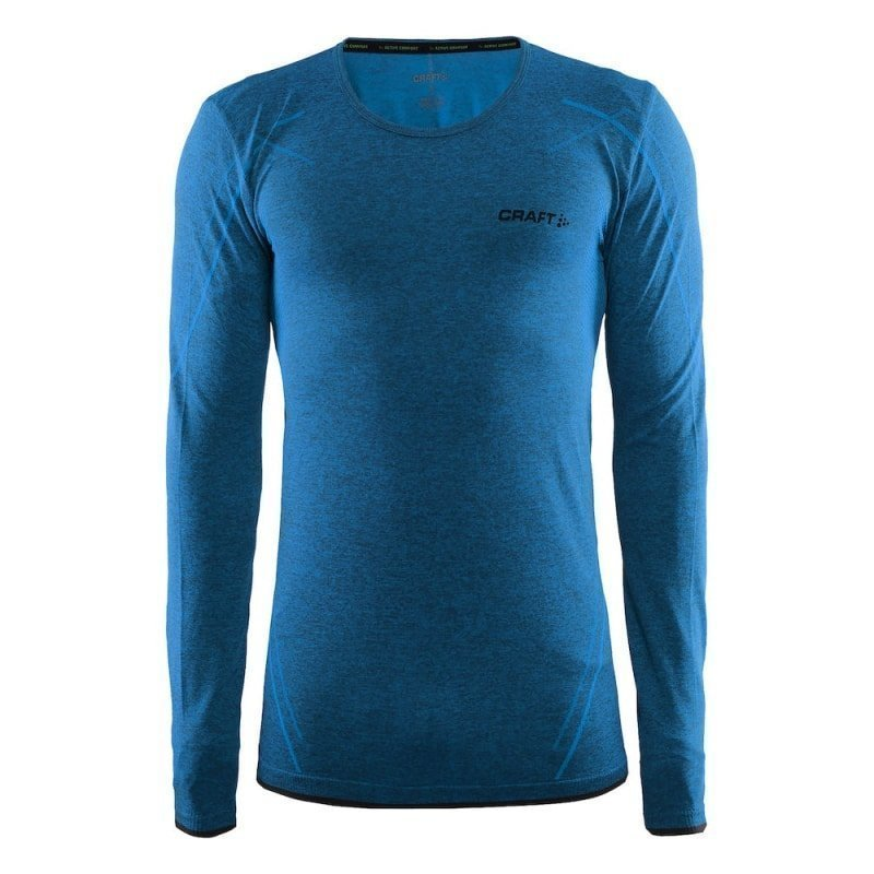 Craft Active Comfort Rn Ls Men's S Pacific