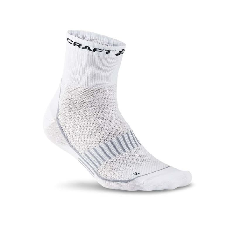 Craft Cool 2-Pac Sock 34/36 White