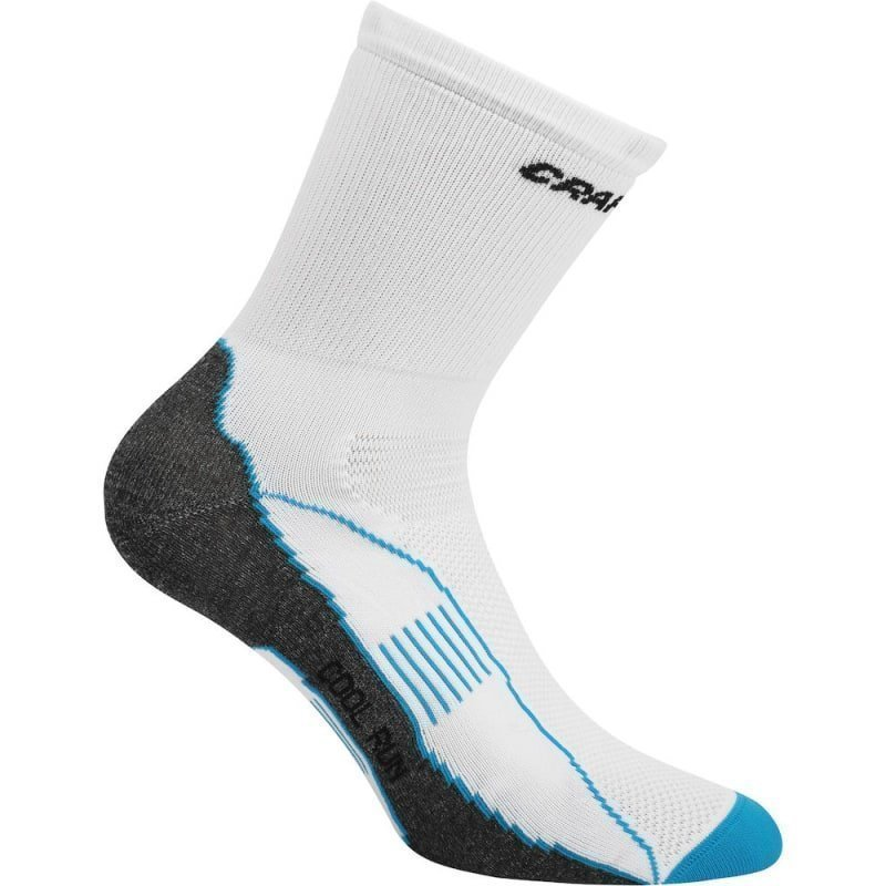 Craft Cool Run Sock 34/36 White