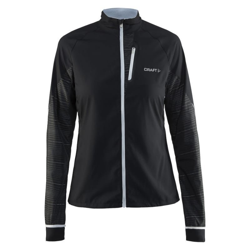 Craft Devotion Jacket Women's L Black/Reflective