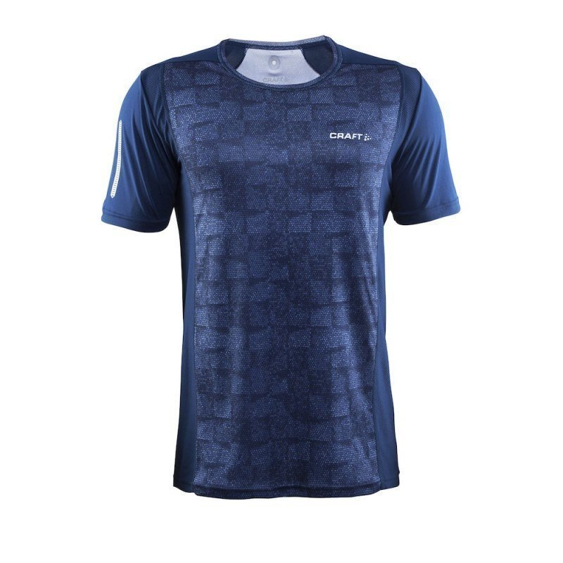 Craft Devotion SS Tee Men's S P Square Deep/Deep