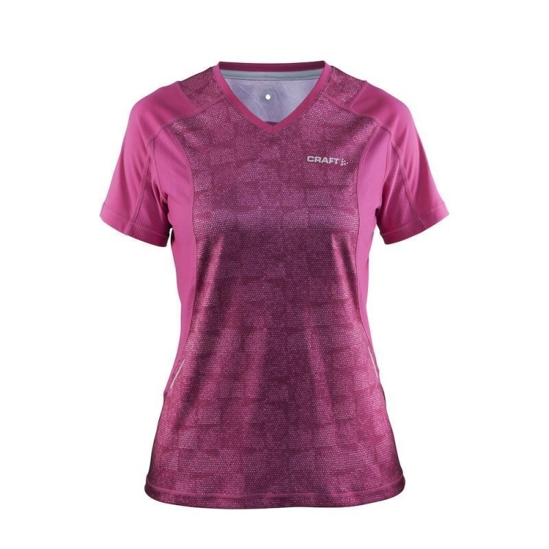 Craft Devotion SS Tee Women's XS P Smoothie/Smoothie