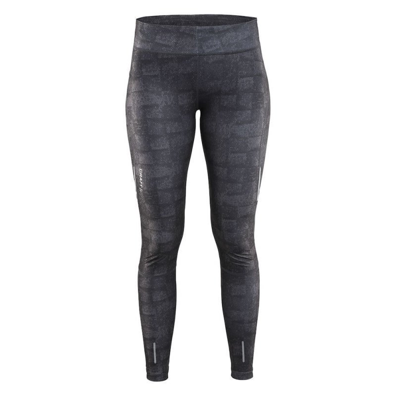 Craft Devotion Tights Women's S P Square Grey / Black