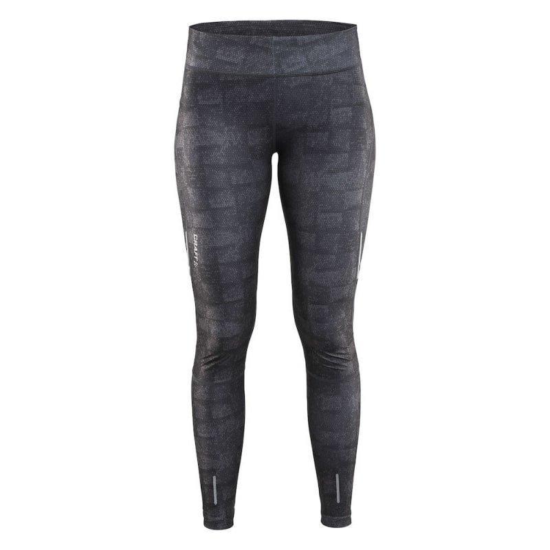 Craft Devotion Tights Women's XS P Square Grey / Black