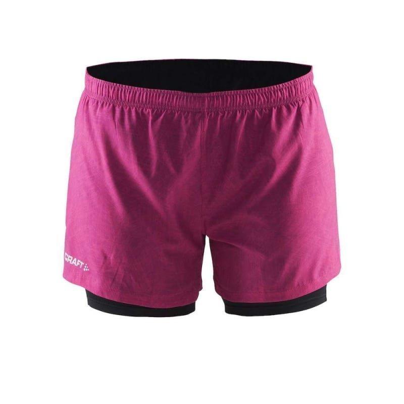Craft Focus 2-1 Shorts W XS P Line Smoothie