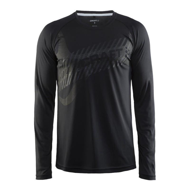 Craft Gain LS Men's XL Black/Print