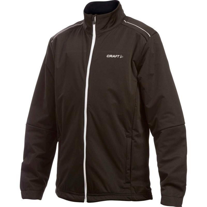 Craft JXC Warm Jacket Junior 122-128 Black/White