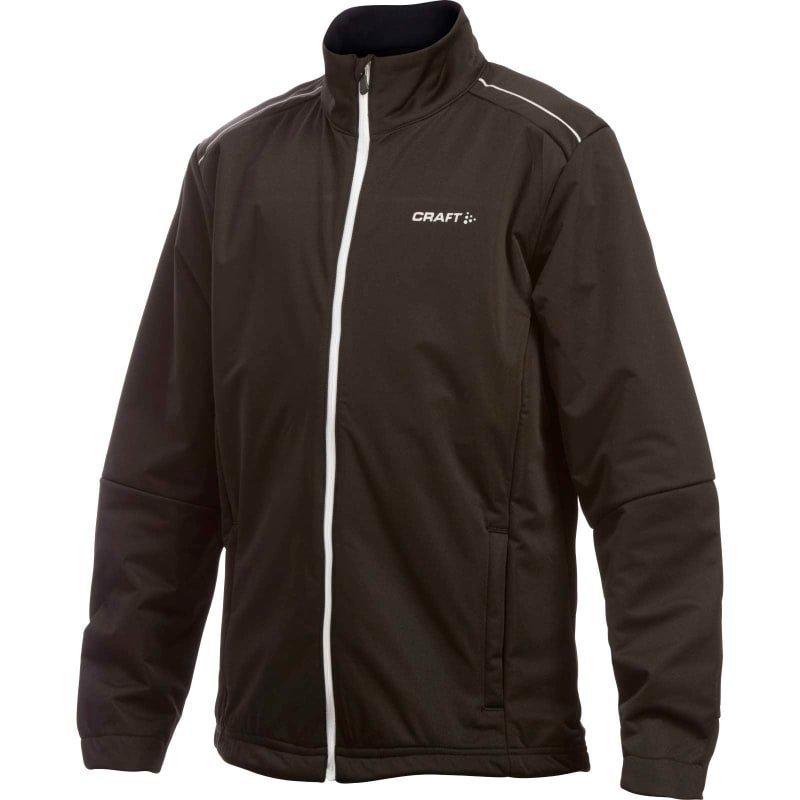 Craft JXC Warm Jacket Junior 134-140 Black/White