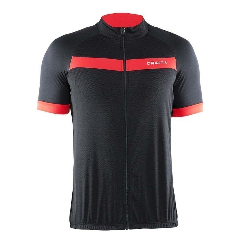Craft Motion Jersey M S Black/Red
