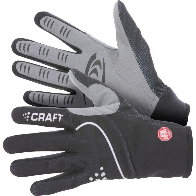 Craft Power Windstopper Glove 8 Black/White
