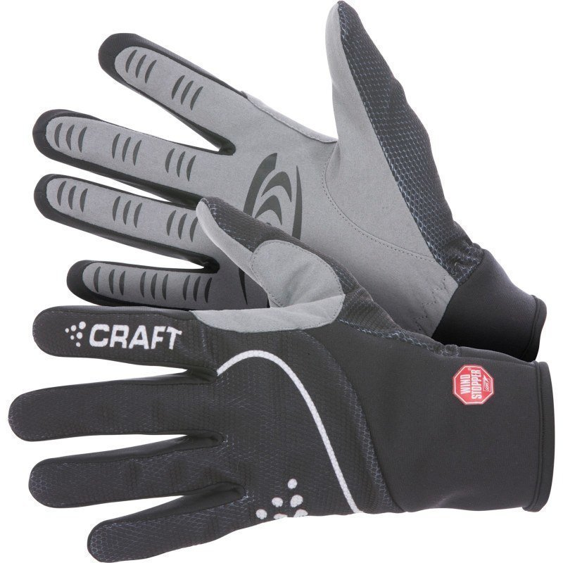 Craft Power Windstopper Glove 9 Black/White