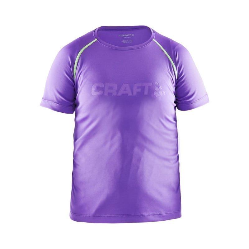 Craft Run SS Tee Men's 122/128 Lilac
