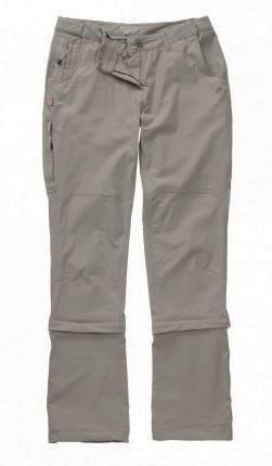 Craghoppers NosiLife Pro Capri 3/4 Length Women's Convertible Trousers Khaki 10