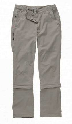 Craghoppers NosiLife Pro Capri 3/4 Length Women's Convertible Trousers Khaki 20