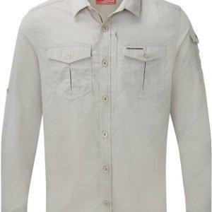 Craghoppers Nosilife Adventure LS Shirt Khaki S