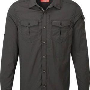 Craghoppers Nosilife Adventure LS Shirt Musta L