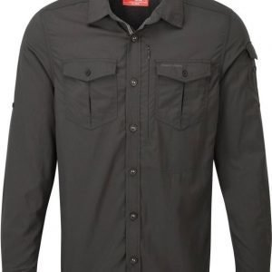 Craghoppers Nosilife Adventure LS Shirt Musta XL