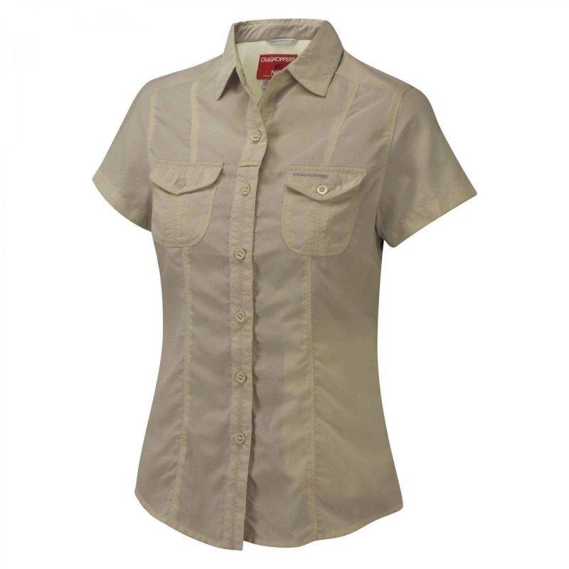 Craghoppers Nosilife Darla SS Shirt Beige 14