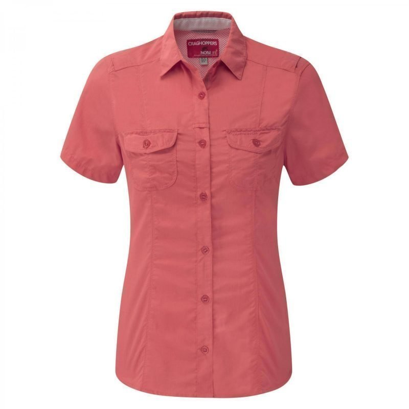 Craghoppers Nosilife Darla SS Shirt Oranssi 12