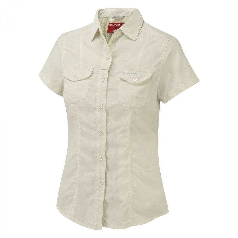 Craghoppers Nosilife Darla SS Shirt Valkoinen 12