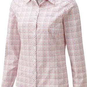 Craghoppers Nosilife Khahi LS Shirt Vaaleanpunainen 18