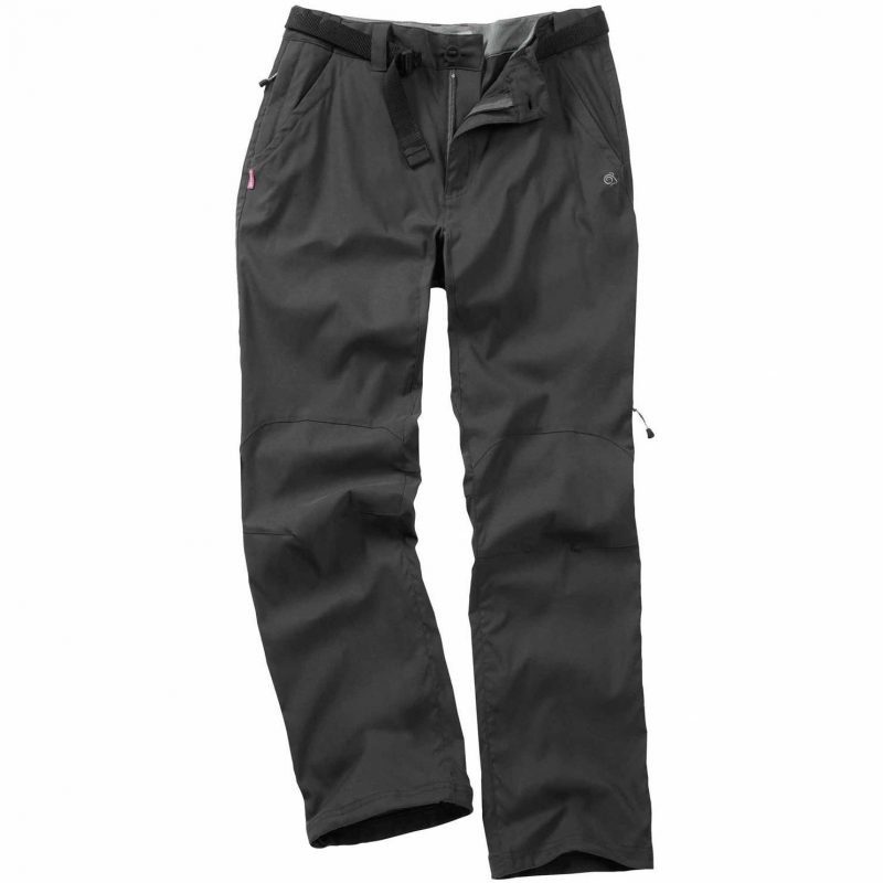 Craghoppers Nosilife Stretch Trousers Long Musta 33