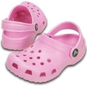 Crocs Classic Kids Pinkki C4/C5