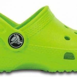 Crocs Classic Kids Vaaleanvihreä C12