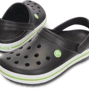 Crocs Crocband Musta/Vihreä USM 10