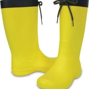 Crocs Freesail Rain Boot Women's Lemon USW 10