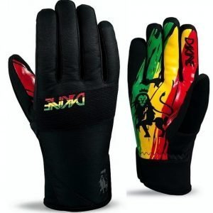 Dakine Crossfire Glove rasta
