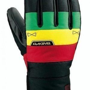 Dakine Omega Glove rasta