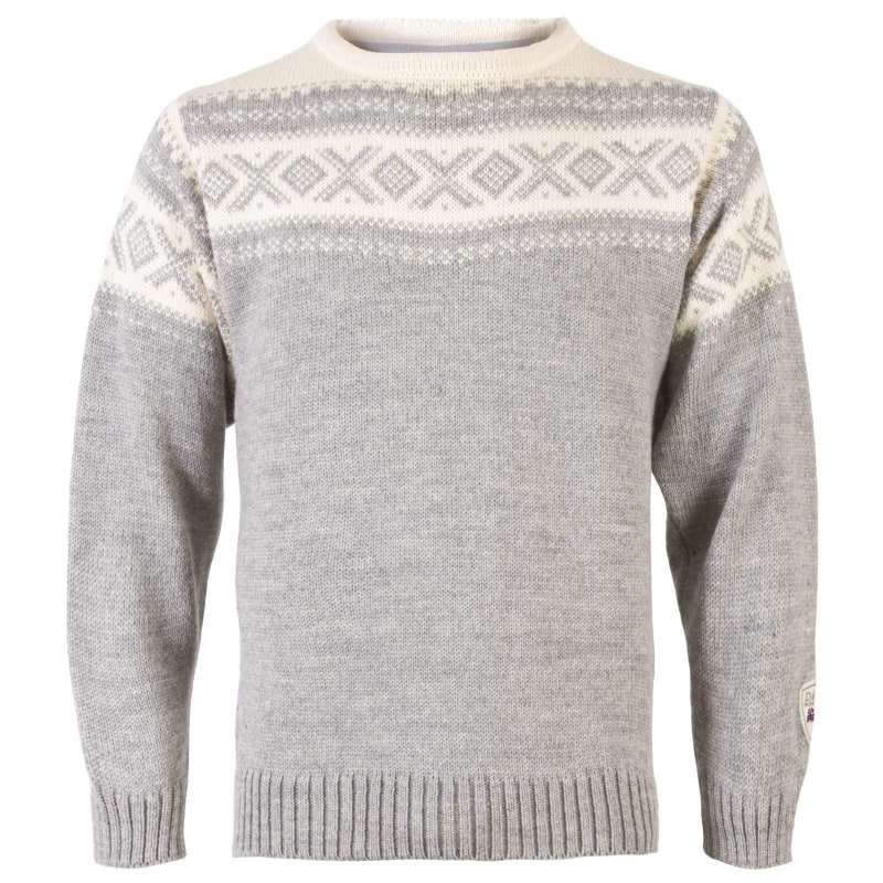 Dale of Norway Cortina 1956 Unisex Sweater M Light Charcoal/Offwhite
