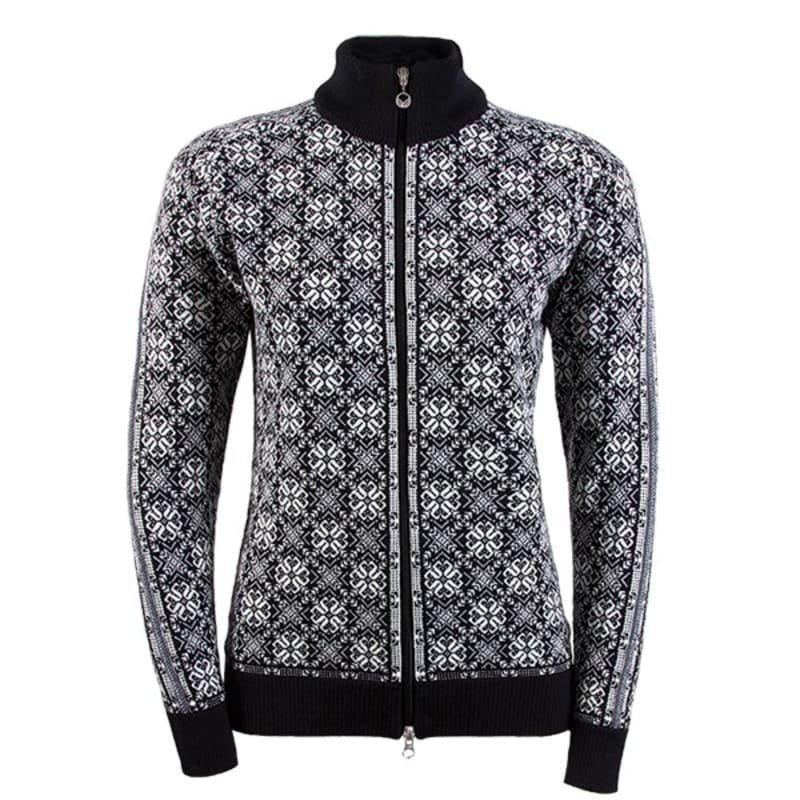 Dale of Norway Frida Feminine Jacket L BLACK/OFF WHITE/SCHIEFER/GREY