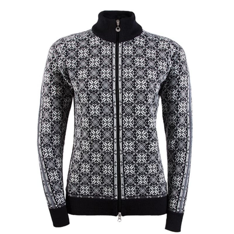 Dale of Norway Frida Feminine Jacket S BLACK/OFF WHITE/SCHIEFER/GREY