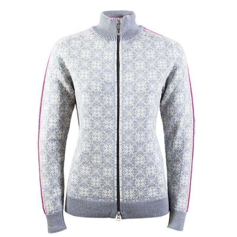 Dale of Norway Frida Feminine Jacket XL SCHIEFER/OFF WHITE/ALLIUM/GREY