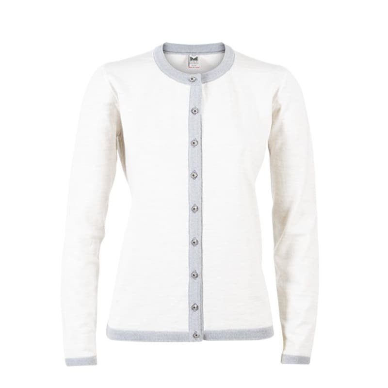 Dale of Norway Sonja Feminine Sweater S Light Grey/Offwhite