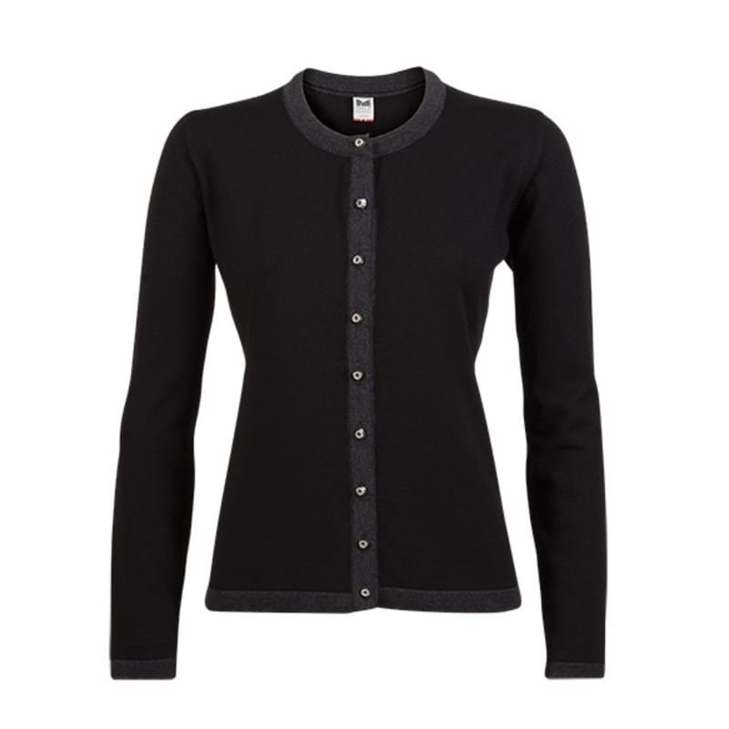 Dale of Norway Sonja Feminine Sweater XL Black/Dark Grey