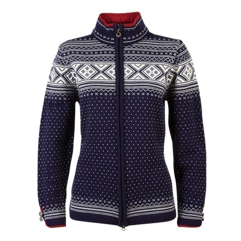 Dale of Norway Valle Feminine Jacket XXL NAVY/OFF WHITE