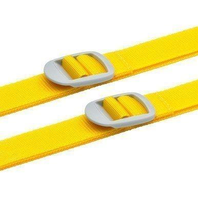 Design Go 2 Luggage Straps tunnisteremmit keltainen