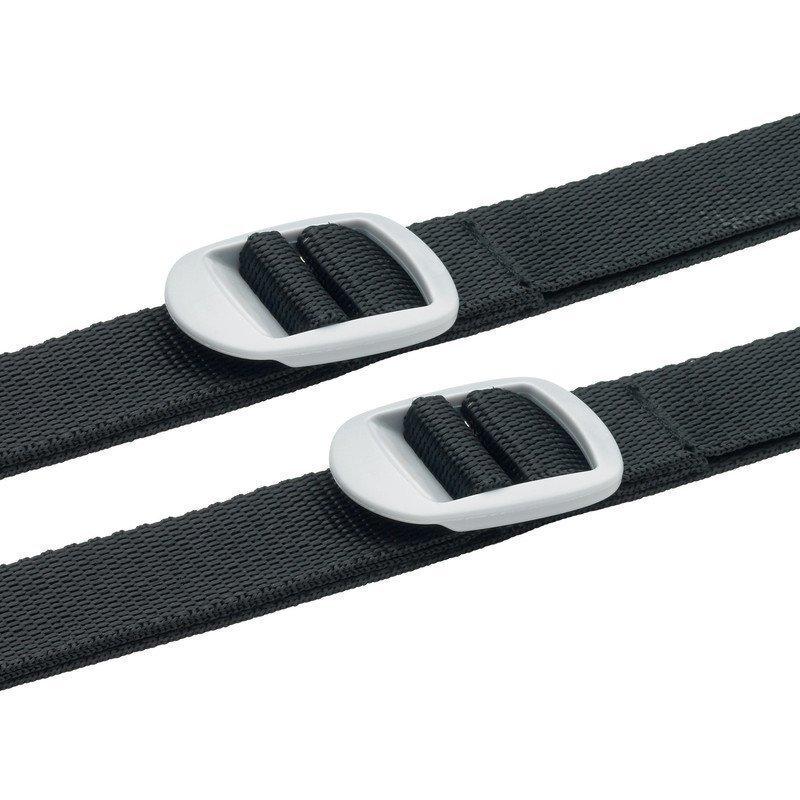 Design Go 2 Luggage Straps tunnisteremmit musta