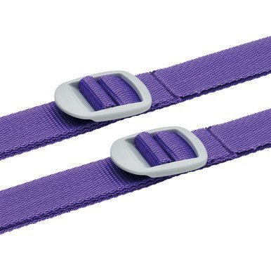 Design Go 2 Luggage Straps tunnisteremmit purppura