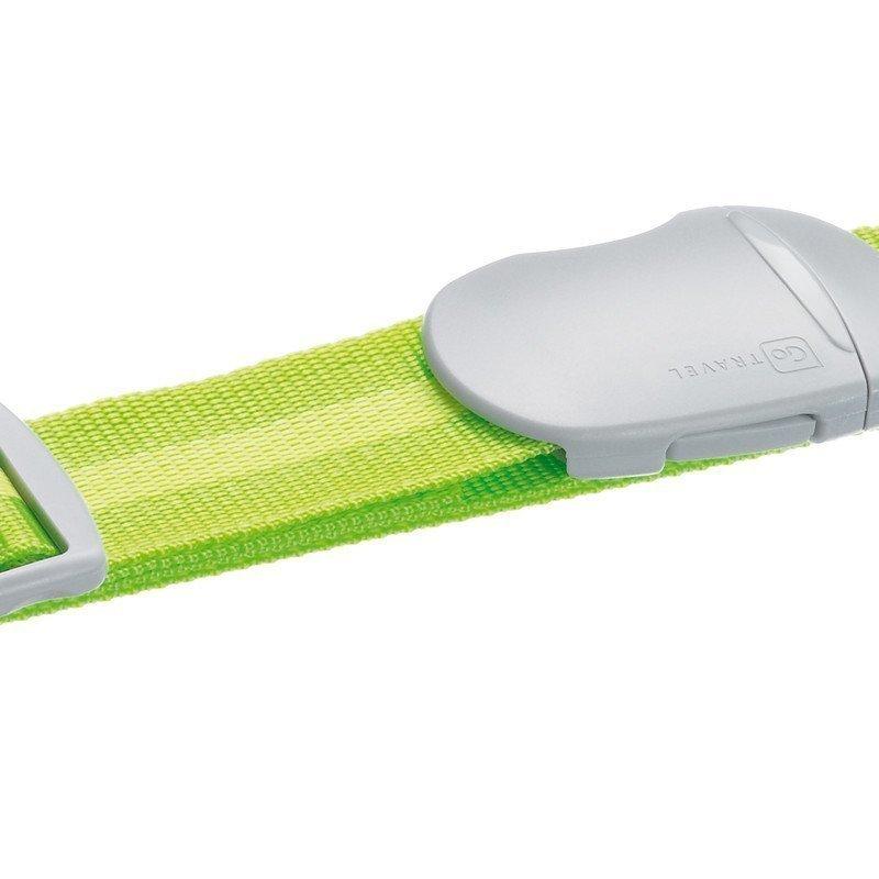 Design Go Luggage Strap tunnisteremmi vihreä