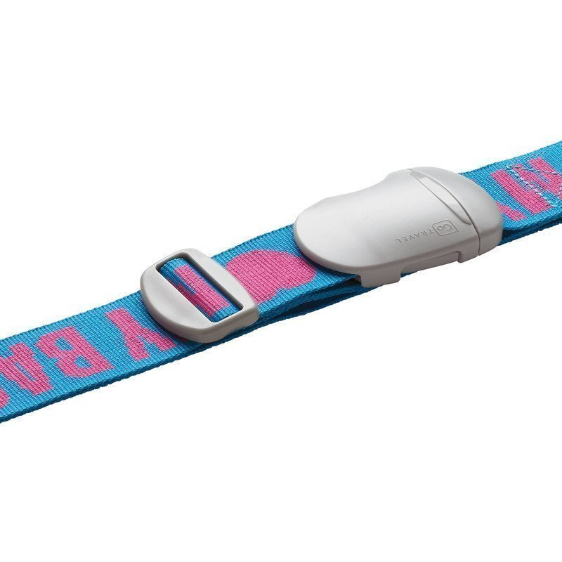 Design Go My Strap tunnisteremmi sininen