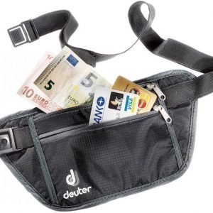 Deuter P Security Money Belt S Musta/harmaa