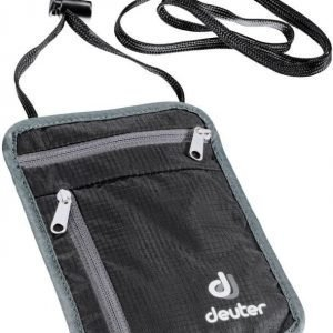 Deuter P Security Wallet I Musta/harmaa