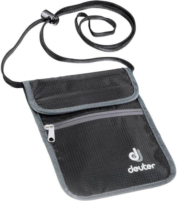Deuter P Security Wallet II Musta/harmaa